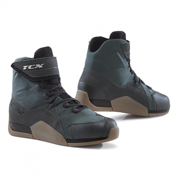 TCX DISTRICT WP GUNMETAL/BROWN