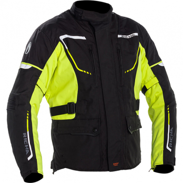 RICHA PHANTOM 2 JKT BLK/FLU