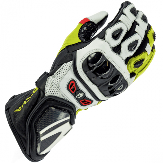 RICHA SAVAGE II GLOVE RE/WH/FL