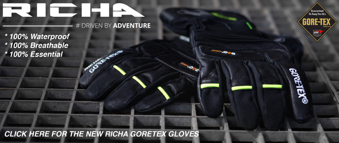 New Richa Gloves