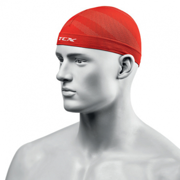 TCX Head Cap Red