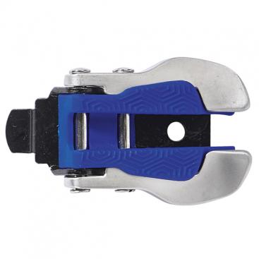 TCX Aluminium + Nylon Buckle SILV/BLUE