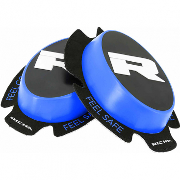 Richa Racing 'R' knee sliders blue