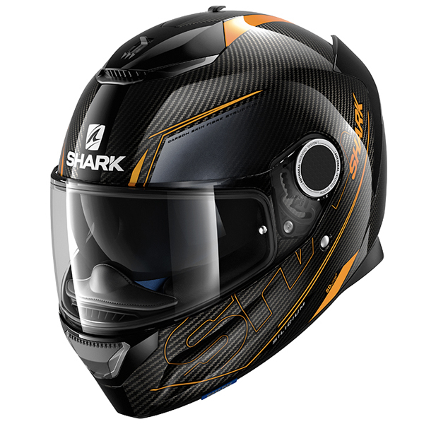 Shark Spartan Carbon Gets Rave Review by MCN !!