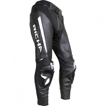 Richa Rebel trousers blk/wht