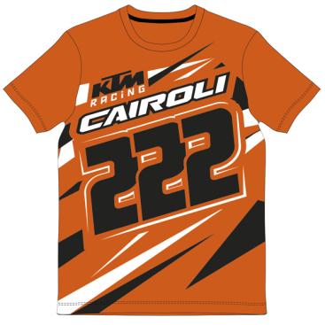 VR46 TONY CAIROLI T SHIRT KTM ORANGE