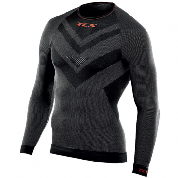 TCX Roundneck Long Sleeve BLK