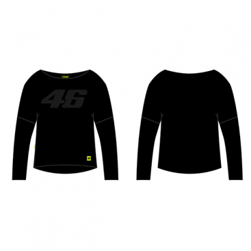 VR46 FLEECE BLACK