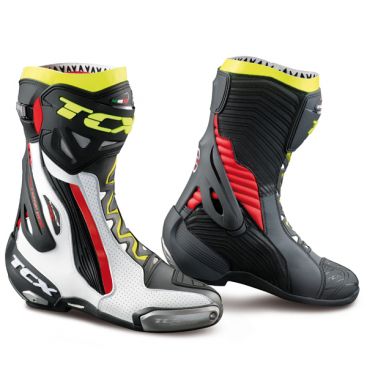 TCX RT-RACE PRO AIR WHT/RED/YEL