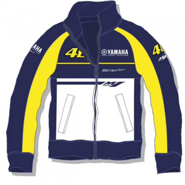 VR46 Yamaha Fleece Blue