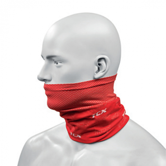 TCX Neck Guard Red
