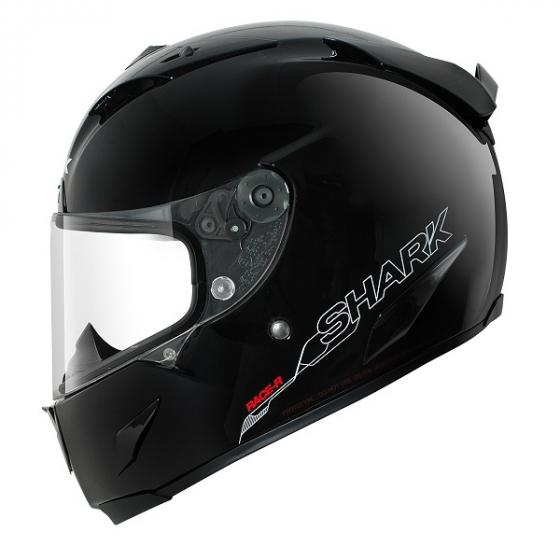 Shark RACE-R PRO helmet Blank BLK