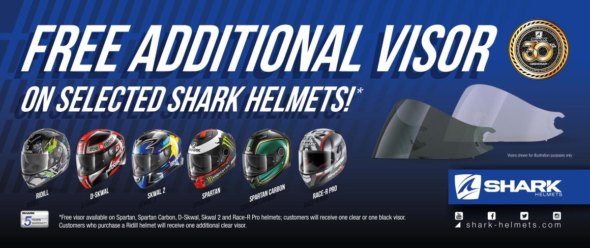 Shark Visor Banner