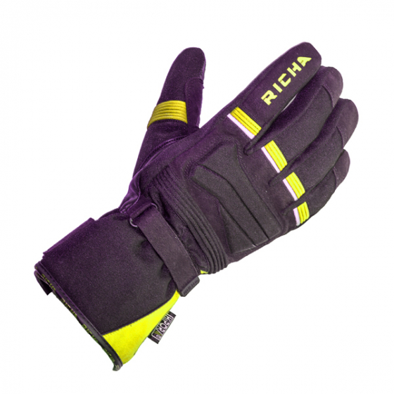 Richa PEAK glove Blk/FLUO