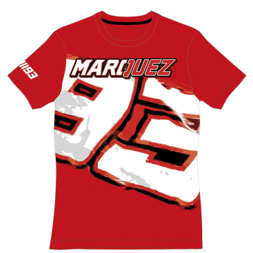 VR46 Marquez Lady T Shirt Red