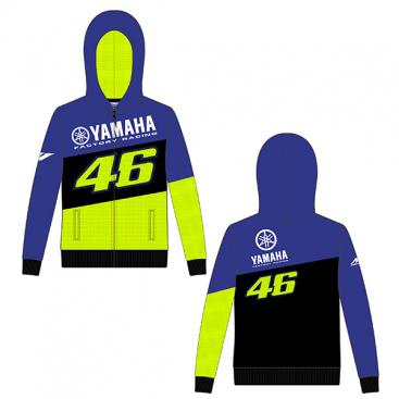 VR46 FULL ZIP HOODIE RACING