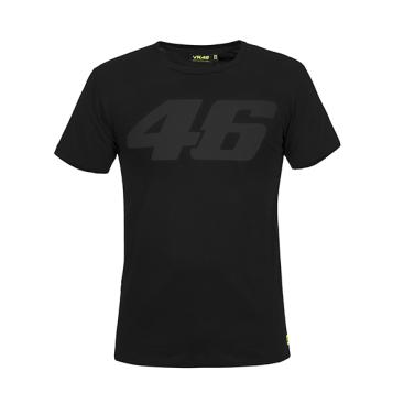 VR46 T-SHIRT BLACK