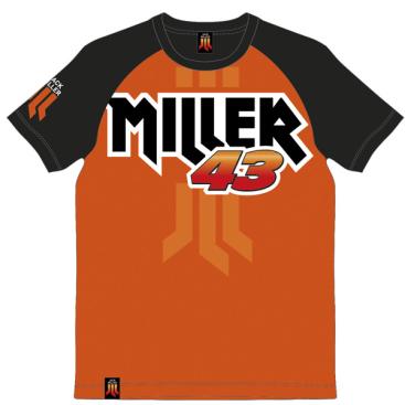 VR46 Jack Miller T-Shirt Orange
