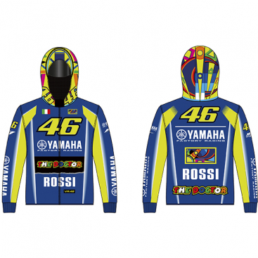 VR46 ZIP FLEECE RACING