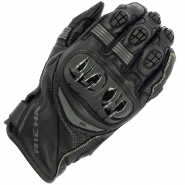 RICHA ROTATE GLOVE BLK/GRY