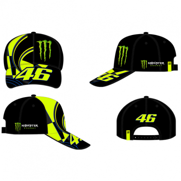 VR46 CAP REPLICA BLACK