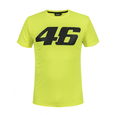 VR46 T-SHIRT YELLOW