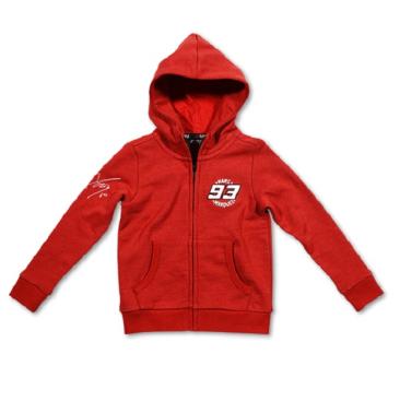 VR46 Marquez Kids Fleece Red